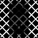 Blueprint Man Paper Icon