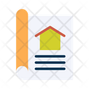 Blueprint Home Plan Plan Icon