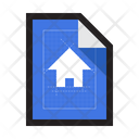 Blueprint Plan Sketch Icon
