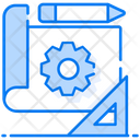 Blueprint Architecture Prototype Icon