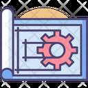 Blueprint Planning Plan Icon