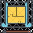 Blueprint Reproducation Construction Icon