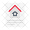 Blueprint Construction Document Icon