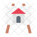 House Blueprint Board Icon