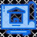 Blueprint Plan Construction Icon