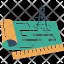 Blueprint Measurements Document Icon