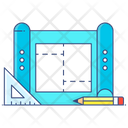 Plan Blueprint Prototype Icon