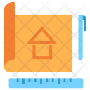 Blueprint Construction Paper Icon
