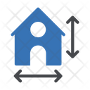 Blueprint Building Map Icon