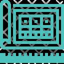 Blueprint Design Development Icon