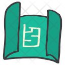 Blueprint Plan Design Icon