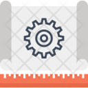 Blueprint Concept Design Icon
