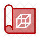 Blueprint construction Icon
