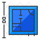 Blueprints Measurement Icon