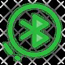 Bluetooth Transfer User Interface Icon