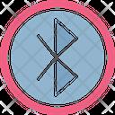 Bluetooth Bluetooth Sign Headset Icon