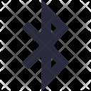 Bluetooth Sign Data Icon