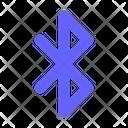 Bluetooth Share Transfer Data Icon