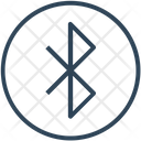 Sign Bluetooth Connection Icon