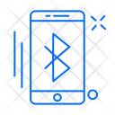 Bluetooth Mobile Share Icon