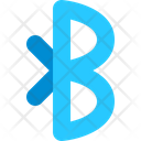 Bluetooth Transfer Data Icon