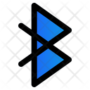 Bluetooth Connecting Nirkabel Icon