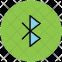 Bluetooth Sign Logo Icon