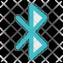 Bluetooth Wireless Icon