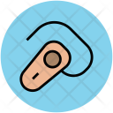 Bluetooth Headset Ear Icon