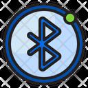 Bluetooth Sign Alarm Icon