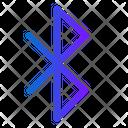 Bluetooth Wireless Internet Icon
