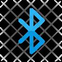 Bluetooth File Data Icon