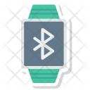 Bluetooth connected smartwatch Icon
