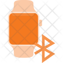 Bluetooth connected watch Icon