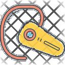 Mhandsfree Bluetooth Handset Earset Icon