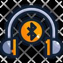 Headphones Bluttooth Headphones Wirelees Headphones Icon