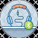 Bluetooth Headphones Earbuds Earphones Icon