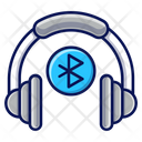 Bluetooth Headphones Headphones Music Icon