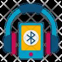 Bluetooth Headphones Icon