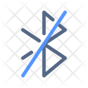 Bluetooth Connectivity Off Icon