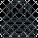 Bluetooth Music Play Icon