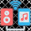 Speaker Sound Box Bluetooth Icon