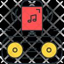 Bluetooth Speaker Smart Icon