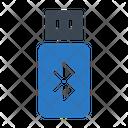 Bluetooth Usb Icon