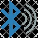 Bluetooth Wave Sync Icon