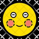 Blush Emotion Smile Icon