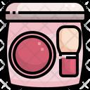 Blush Brush Makeup Icon