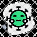 Blush Coronavirus Emoji Coronavirus Icon
