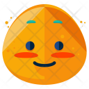 Blush Emoji Face Icon