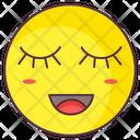 Blush Emoji Blush Expression Emotag Icon
